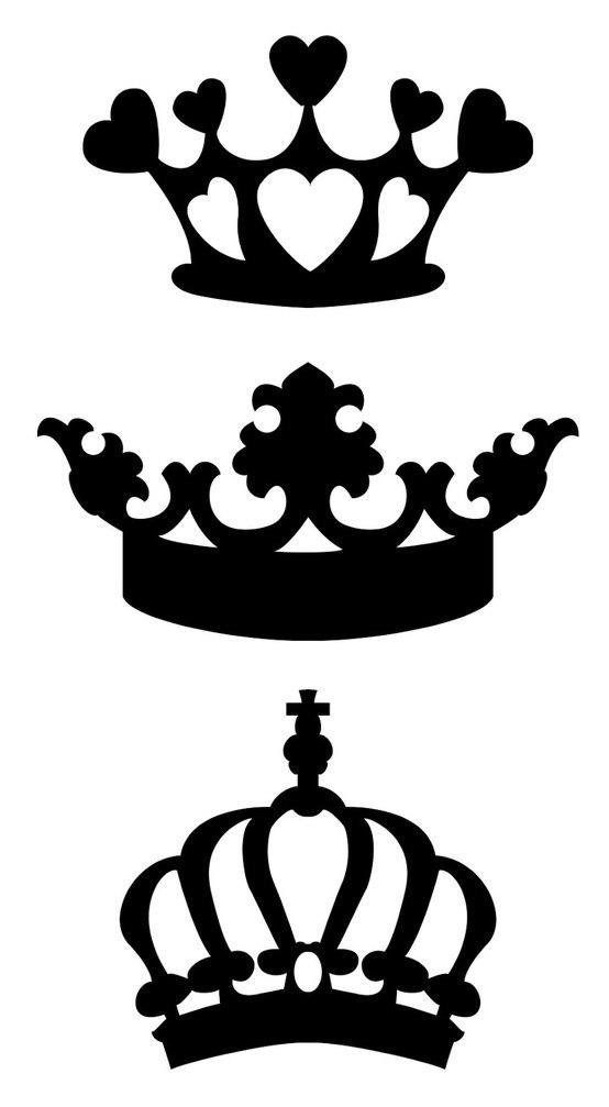 рисунок тату корона